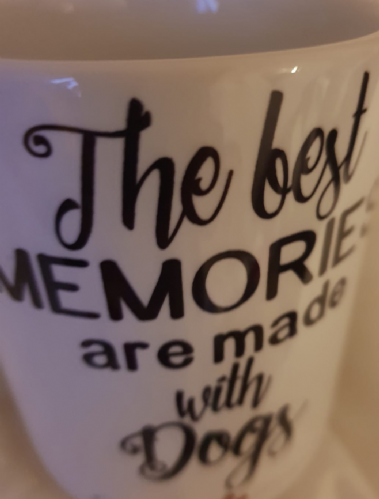 Best memories are made with dogs mug